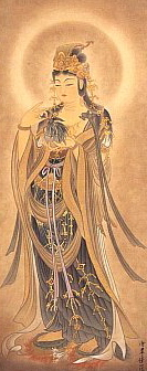 Modern Painting of Yoryu Kannon (Willow Kannon)