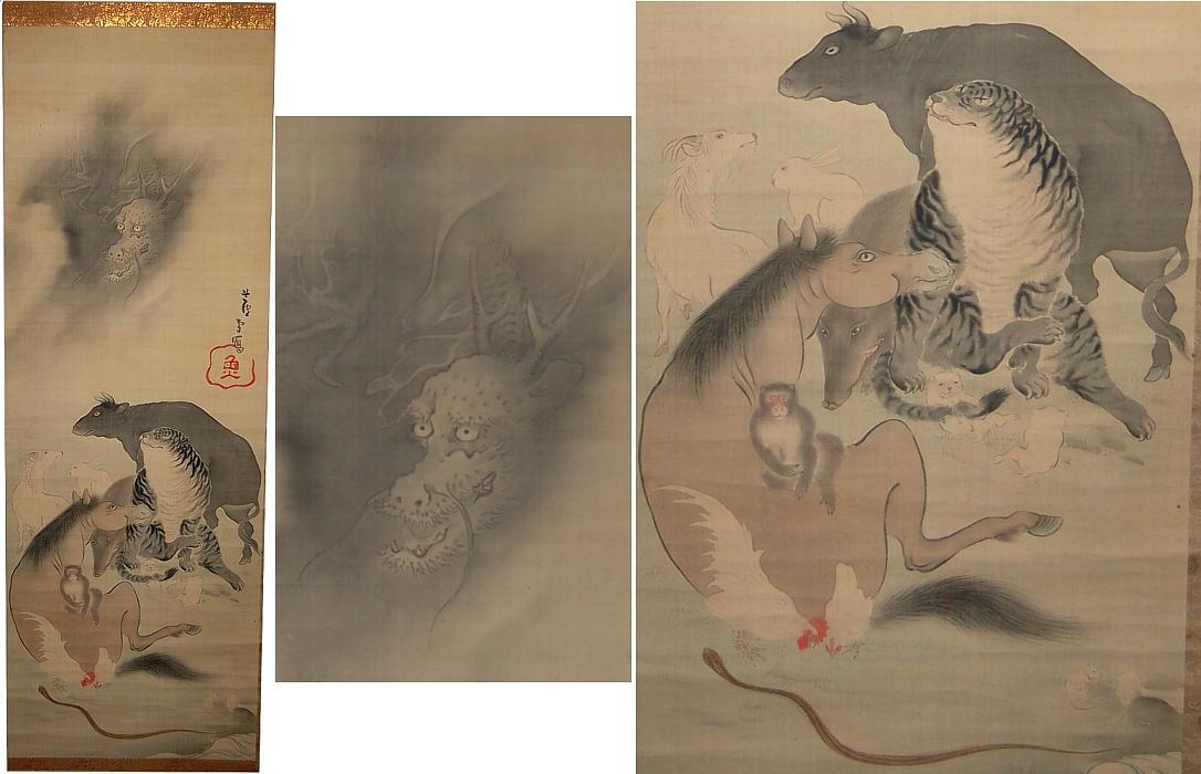 12 Zodiac Animals & Zodiac Calendar - Buddhism in Japan and