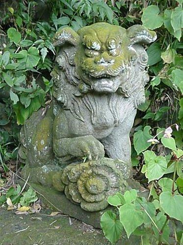 "Japanese Buddha Statue Series Amida aun figure open-mouthed form ""agyou"""